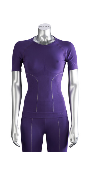 Falke Skiing Athletic Fit Women Shirt purple